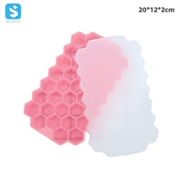 With cover silicone ice pattern honeycomb
