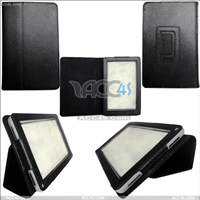 WY Litchi Skin Leather Case for Kindle fire
