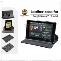 Rotatable 360 degree Leather case for GOOGLE NEXUS 7