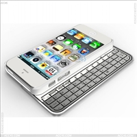 Multi-function Ultra thin detachable bluetooth keyboard case for Apple iPhone 5