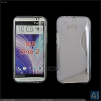 Soft TPU Case for HTC One 2
