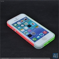 Colors TPU PC Bumper Frame for iPhone 5/5S