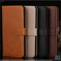 Leather Flip Wallet Case for Amazon Fire Phone