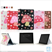 Leather Stand Protective Case for iPad 2/3/4