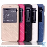 Leather Window Case for iPhone 6