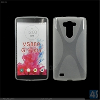 X Type TPU Cell Phone Case for LG G Vista/VS880