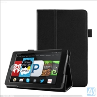 Back Stand Leather Case for Amazon Kindle Fire HD6(2014)