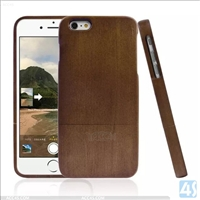 2 in 1 Wood Phone Case for iPhone 6 Plus