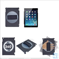 Rotating Plastic Hard Cover for iPad Air