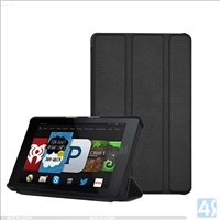 Three Folding Leather Case for Amazon Fire HD 6(2014)