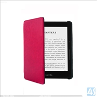 Leather Protective Case for Amazon Kindle Voyage