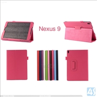 Leather Stand Case for Google Nexus 9