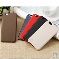 Genuine Leather + TPU Phone Case for iPhone 6