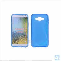 S Type TPU Soft Case for Samsung Galaxy E7(SM-E700F)
