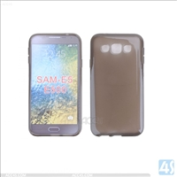Smooth TPU Soft Case for Samsung Galaxy E5(SM-E500F)