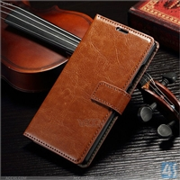 Leather Wallet Phone Case for Huawei Ascend P8