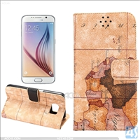 Wallet Leather Stand Case for Samsung Galaxy S6(SM-G925F)