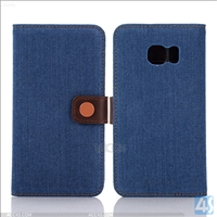 Wallet Leather Stand Case for Samsung Galaxy S6 Edge