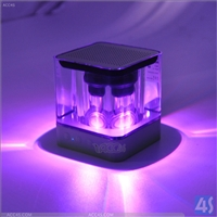 Portable Mini Bluetooth Speaker with LED