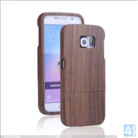 2 in 1 Wood Hard Case for Samsung Galaxy S6(SM-G925F)
