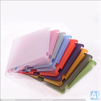 Frosted Plastic Hard Case for iPad 2/3/4