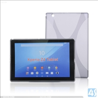 X Type TPU Soft Case for Sony Xperia Z4 Tablet