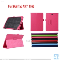 Stand Leather Case for Samsung Galaxy Tab A T555 TABA
