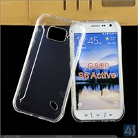 Smooth Skin TPU Soft Case for Samsung Galaxy S6 Active/G890
