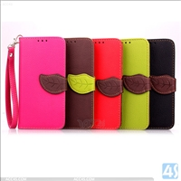 Leather Wallet Case for Samsung Galaxy E7(SM-E700F)