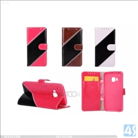 Bicolor  Wallet PU leather case for HTC m9