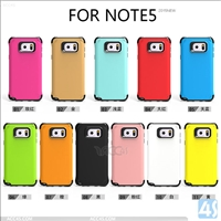 PC TPU 2in1 Combo Hybrid Case Cover for Samsung Galaxy Note 5 / N920