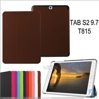 PU Leather Tri-fold Stand Case Cover for Samsung Galaxy TAB S2 /9.7 /SM-T810/815