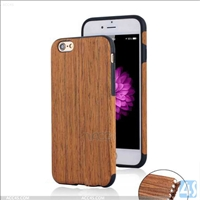 Wood + TPU Slim Protective Case Cover for Apple iPhone 6s Plus