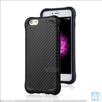 Carbon Fiber TPU Shockproof Case Cover for Apple iPhone 6/ 6s