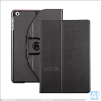 Contrast Color 360 Rotation PU Leather Case for APPLE  iPad Mini 2 / 3