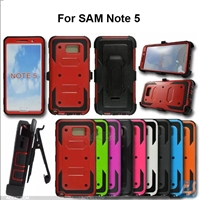 hybrid shockproof heavy duty case for samsung galaxy note 5