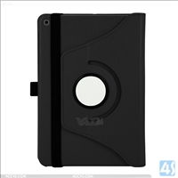 "Litchi PU Leather 360 Degree Rotation Case Cover for AMAZON  New Fire 7""(2015)"