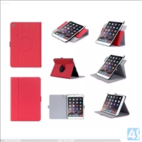 Multi Angle PU Leather 360 Degree Rotation Case Cover for Apple iPad Mini 4