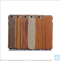 TPU + Wood Back Cover Case for Apple iPhone 6/6S
