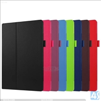 Leather Stand Case for Amazon New Fire HD 10