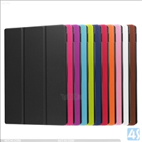 Three Folding Leather Case for Amazon New Fire HD 10