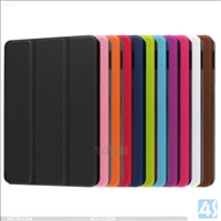 Three Folding Leather Case for Amazon New Fire  7