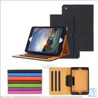 Leather Stand Case for Apple iPad Mini 4