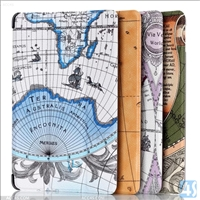 leather flip map case for amazon new fire 7 2015
