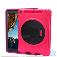 360 Rotation Anti Shock Kick Stand Case for iPad Air 2