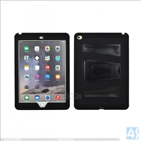 PC Silicone Stand Hybrid Hard Case for iPad Air