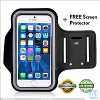 neoprene armband reflective for iphone 6 plus