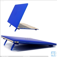 Matte PC Hard Case for Macbook Air 12 with stand