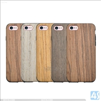 TPU Wood Case for APPLE iPhone 7