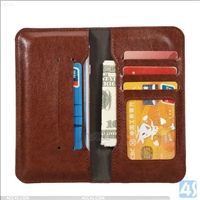 4.7inch PU Leather Wallet bag for cell phone